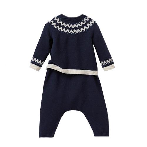 Ensemble tricot pull et sarouel