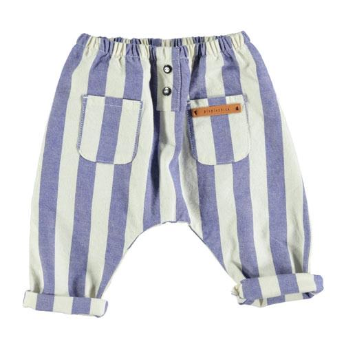 Pantalon sarouel rayé
