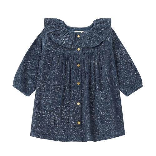 Robe Judith bleu gris