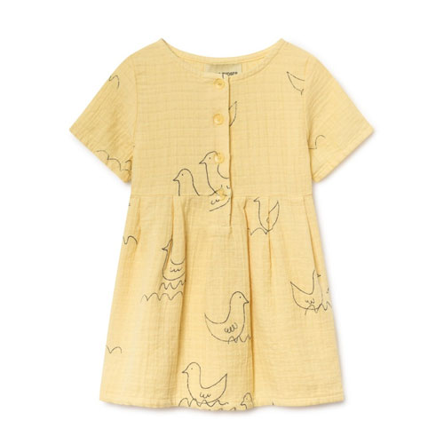 Robe Oiseaux jaune