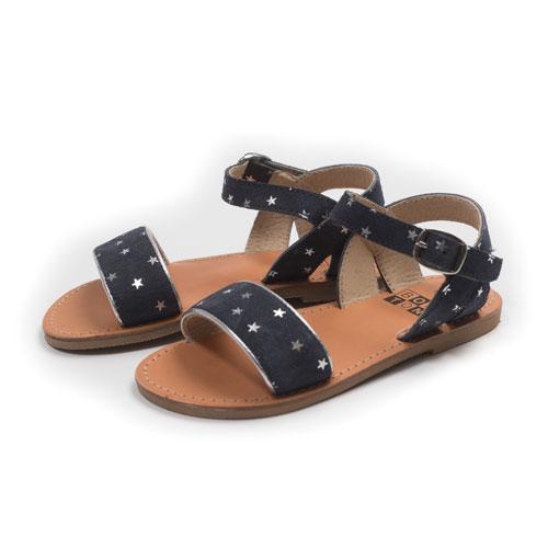 Sandales Julie marine