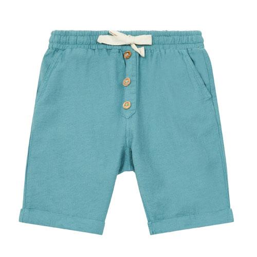 Short Simon bleu vert