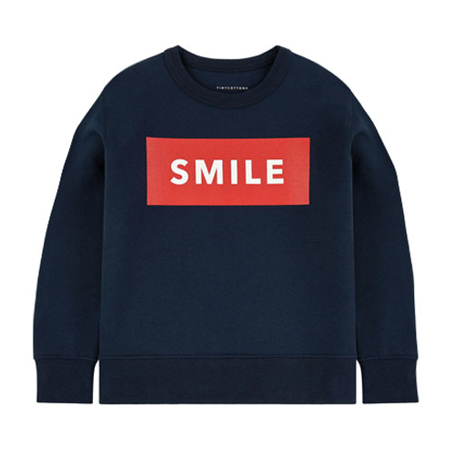 Sweat illustré Smile
