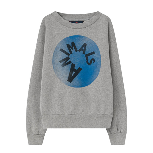 Sweat logo Bear gris