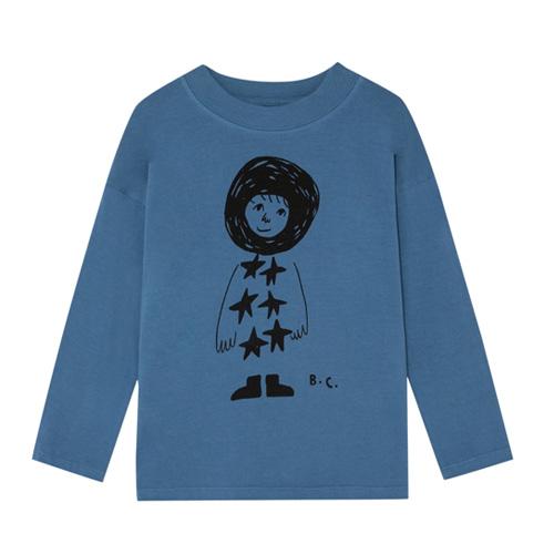 T-shirt Esquimau bleu