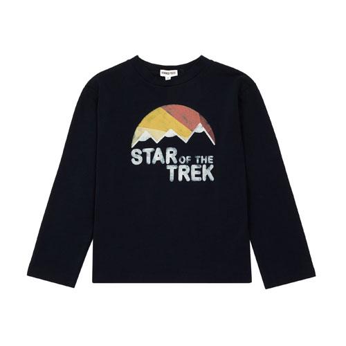 T-shirt star du trek bleu nuit
