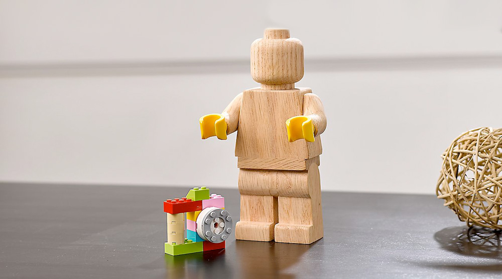Wooden Minifigure LEGO Originals en bois