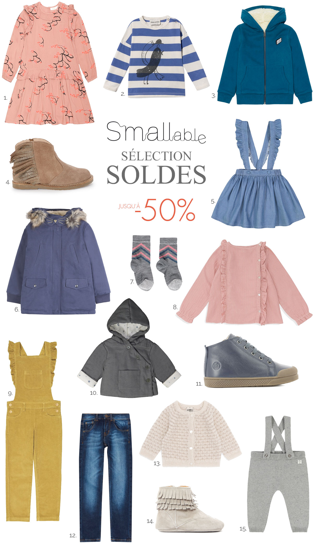 Sélection Soldes Smallable