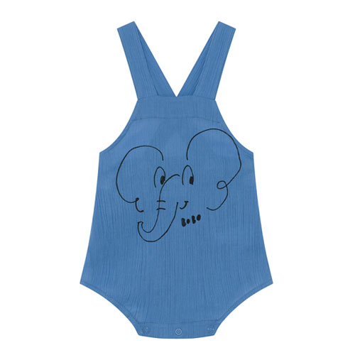 Barboteuse Eléphant bleu