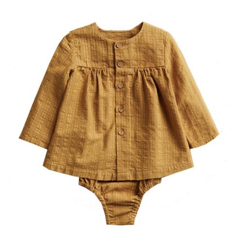 Chemise texturée avec culotte