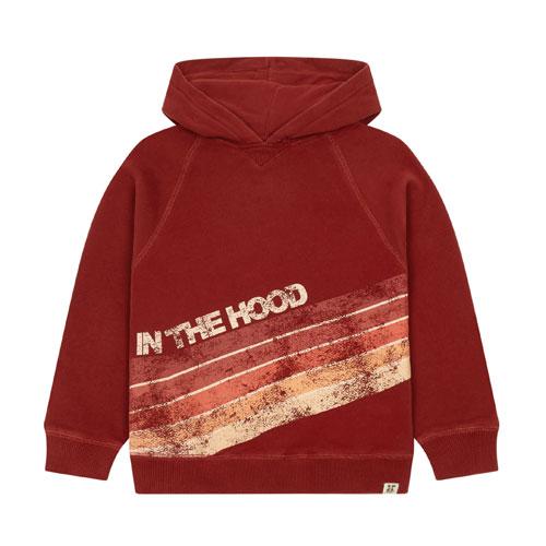 Hoodie In The Hood bordeaux