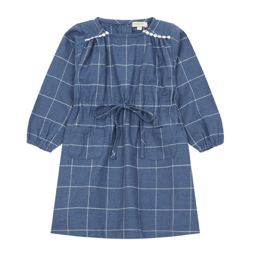 Robe Carlota bleu