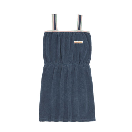 Robe Eponge Coolifornia Bleu chiné