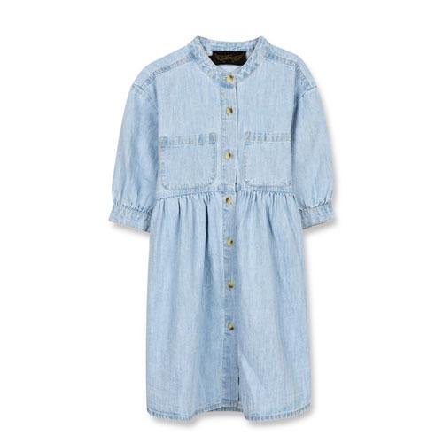 Robe Swing bleu