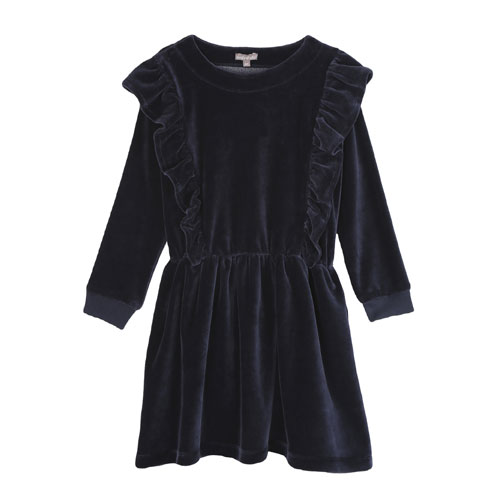 Robe volants anthracite