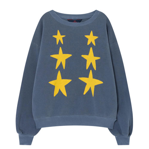 Sweat Etolies Bear bleu marine