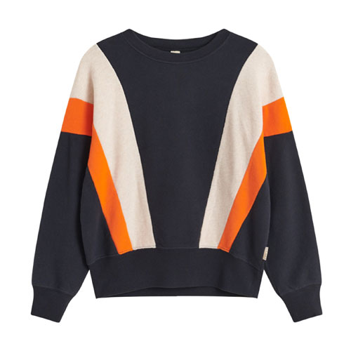 Sweat tricolore Vanka