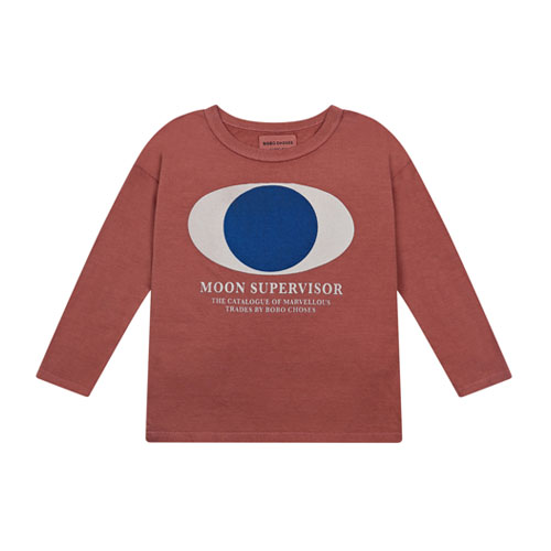 T-shirt Big eye terracotta