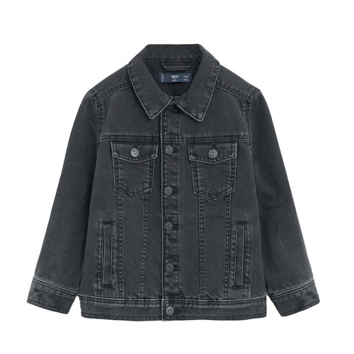 Veste denim coton