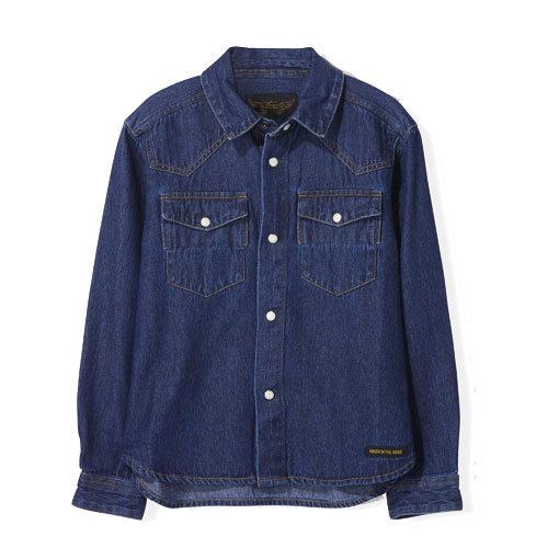 Chemise Dusk Bleu jean