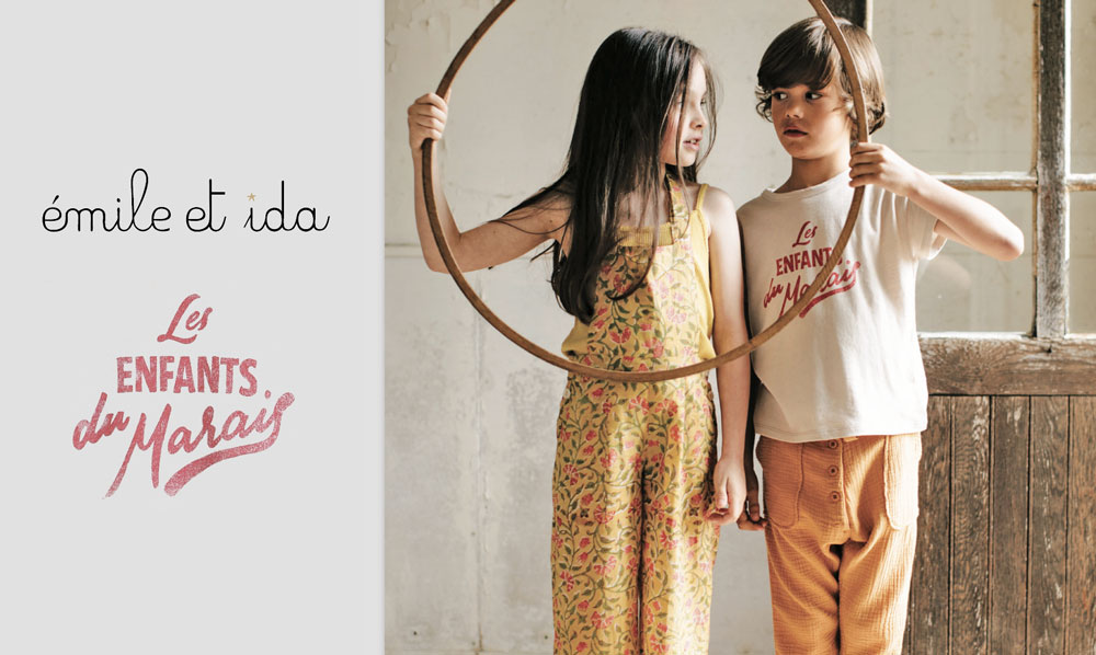 Émile et Ida collection kids spring summer 2020
