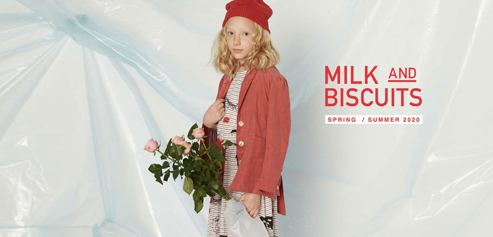 Collection Milk & Biscuits printemps été 2020