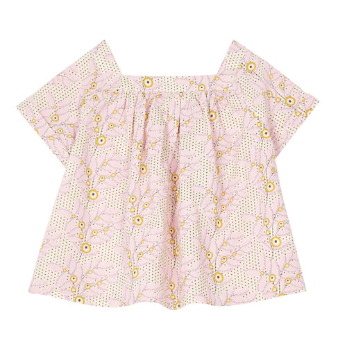 Blouse Scooter Rose