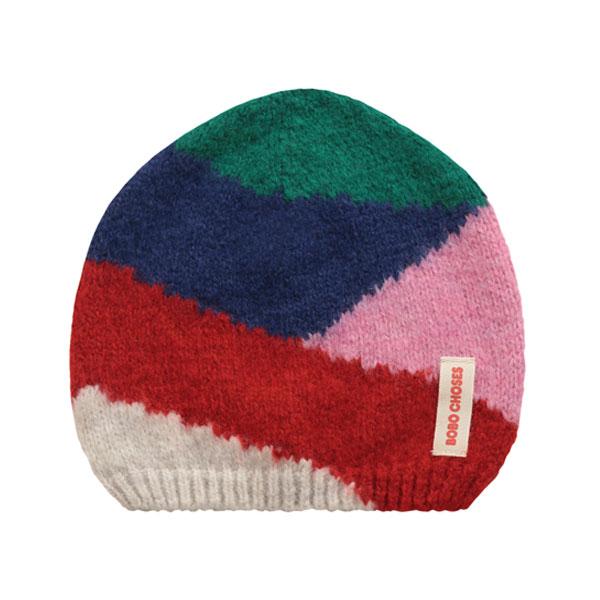 Bonnet colorblock