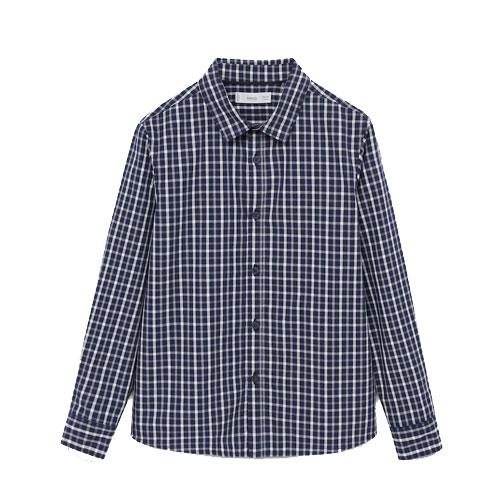 Chemise regular-fit à carreaux en coton