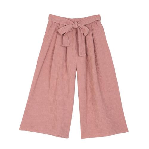 Pantalon fluide rose