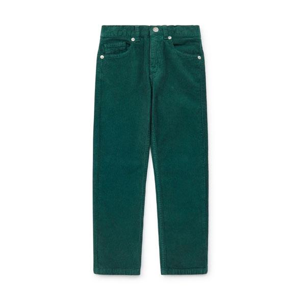 Pantalon velours Daddy vert
