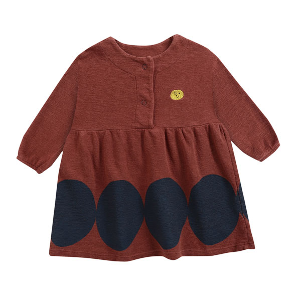 Robe  rouge brique