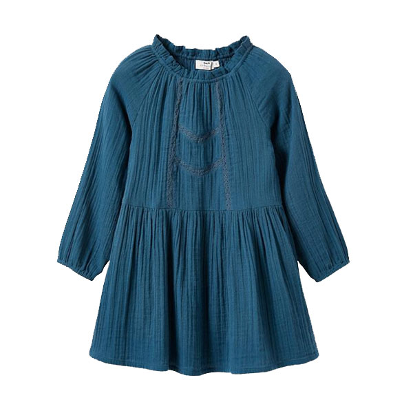 Robe col montant