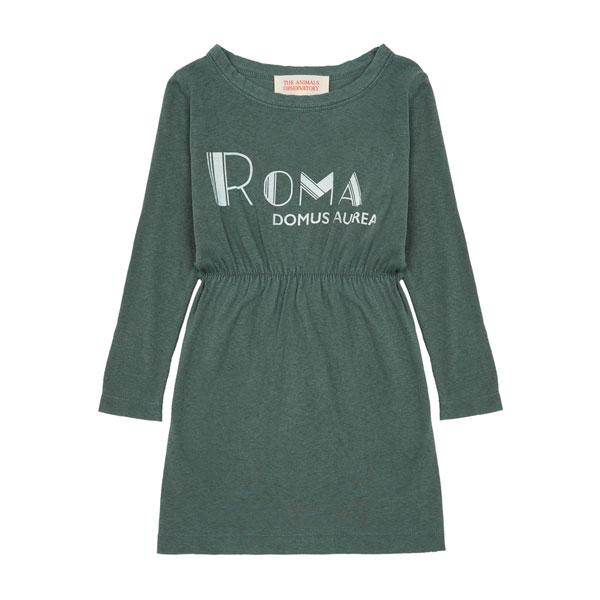 Robe Crab Roma vert sapin