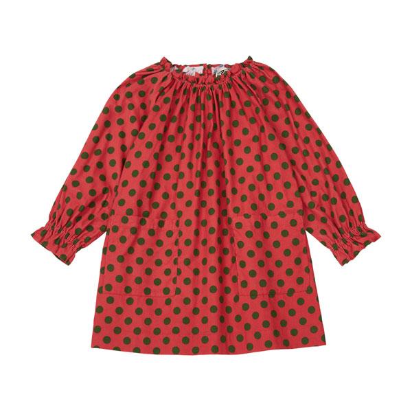 Robe Dahlia rouge