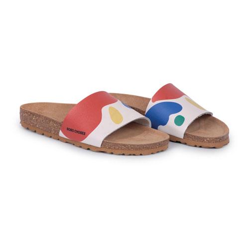 Sandales écru