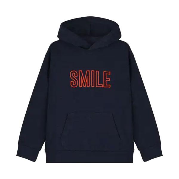 Sweat à capuche Smile
