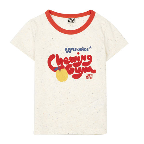 T-shirt Chewing Gum écru