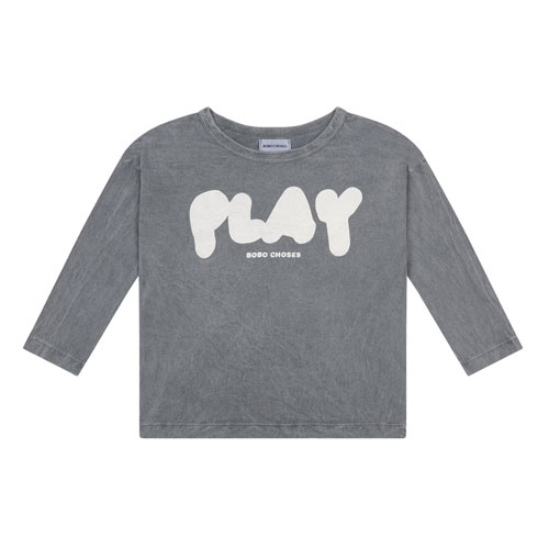 T-shirt Play gris chiné