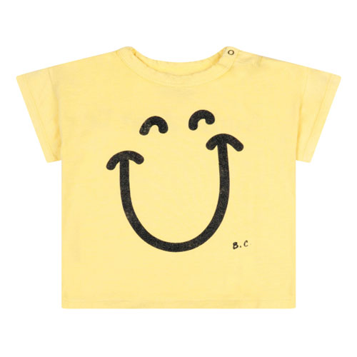 T-shirt Smile jaune