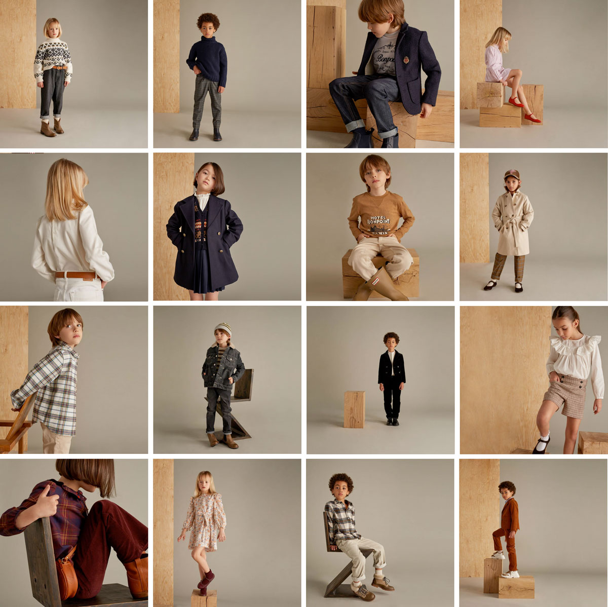 Collection Bonpoint fall winter 2021 2022